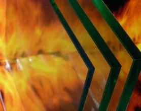 单片铯钾防火玻璃