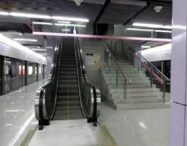 成都10号线地铁站固定式刚性挡烟垂壁-中铁十四局项目