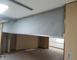 龙潭社区综合体养老服务活动式柔性挡烟垂壁