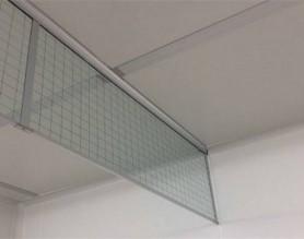 夹丝防火玻璃挡烟垂壁