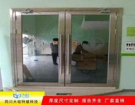 成都茂业中心不锈钢防火玻璃门项目