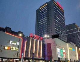 四川仁寿县万达广场售楼部挡烟垂壁案例