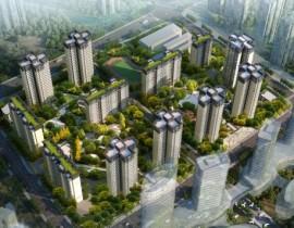 重庆渝高·星州一期工程中空防火玻璃项目