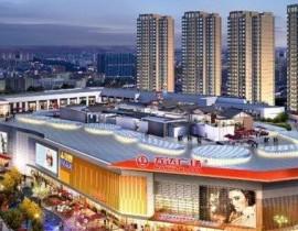 四川仁寿万达广场商业综合体挡烟垂壁定制安装项目