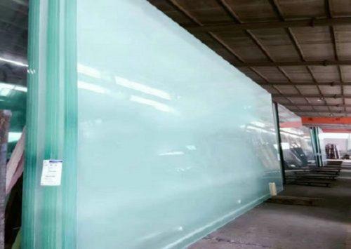 超白12mm防火玻璃