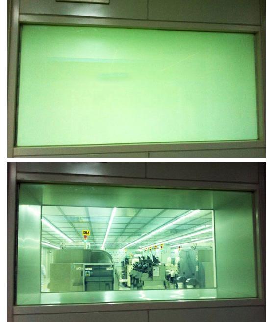 调光玻璃视窗