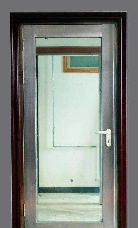 不锈钢单开防火玻璃门