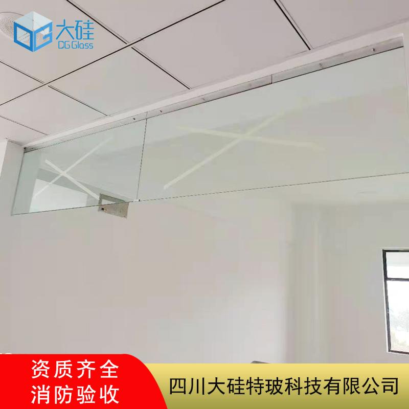 学校挡烟垂壁,学校玻璃挡烟垂壁